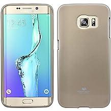 cofi1453® Carcasa de silicona para Samsung Galaxy S6Edge Plus g928F//Silicona Carcasa Cover Case accesorio funda TPU Bumper Carcasa en Oro