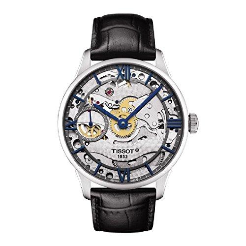 Tissot orologio da uomo, colore: Nero (modello: Swiss Automatic stainless steel casual T0994051641800)