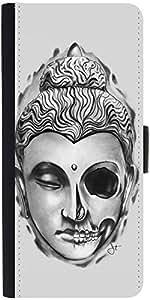Snoogg Buddha The Creator Designer Protective Flip Case Cover For Moto-G2
