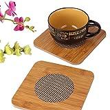 Best Pots  Pans - LWVAX® Placemat Square Bamboo Coaster Heat Pad/Pan Pot Review