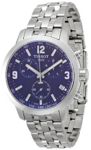 Tissot T055.417.11.047.00  Mens Watch with Blue Dial
