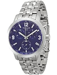 5446443bc3b T055.417.11.047.00 Tissot Men s Watch with Blue Dial