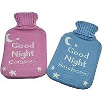 Wärmflasche mit Strickbezug - Geschenkverpackung - Good Night Gorgeous & Handsome preisvergleich bei billige-tabletten.eu