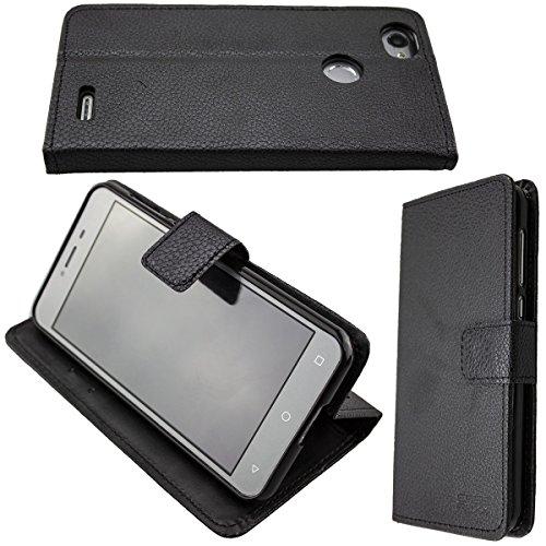 caseroxx Hülle/Tasche Bookstyle-Case Medion Life E5008 MD 60746 Handy-Tasche, Wallet-Case Klapptasche in schwarz