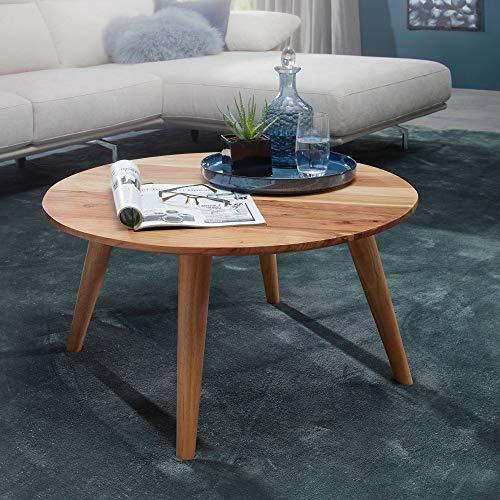 Finebuy Massiver Couchtisch Java 120 X 60 X 40 Cm Akazie Massiv Holz