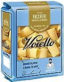 Voiello Pasta Paccheri N.123, Pasta Corta di Semola Grano Aureo 100%, Specialità Napoletane - 500 gr