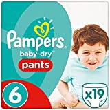 Pampers Baby-Dry 19 Couches-Culottes Taille 6 (16 kg et +)