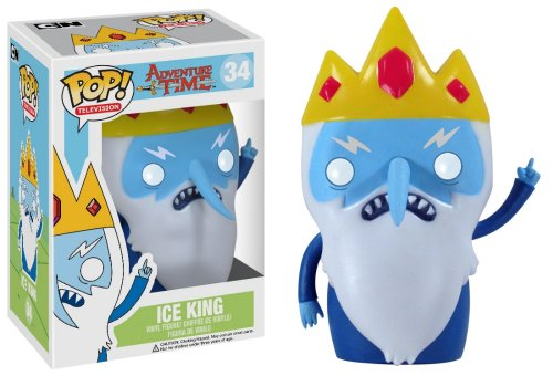 ADVENTURE TIME POP TELEVISION ICE KING 3.75