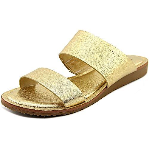 Michael Michael Kors Millie Slide Cuir Sandale pale gold