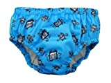 Charlie Banana Schwimmwindel Trainingswindel 2-in-1 the fashion collection robot boy in blau Small 0-6 Monate Trainer