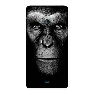 Premium Chimp King Black Back Case Cover for Lumia 540