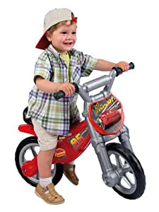 Disney Cars Speed Bike Motorbike Foot to Floor Ride on