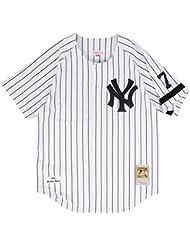 Mariano Rivera New York Yankees Mitchell & Ness Authentic MLB 1995 Home Jersey Maillot