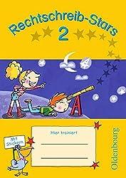 Rechtschreib-Stars: 2. Schuljahr - Übungsheft: Mit Lösungen
