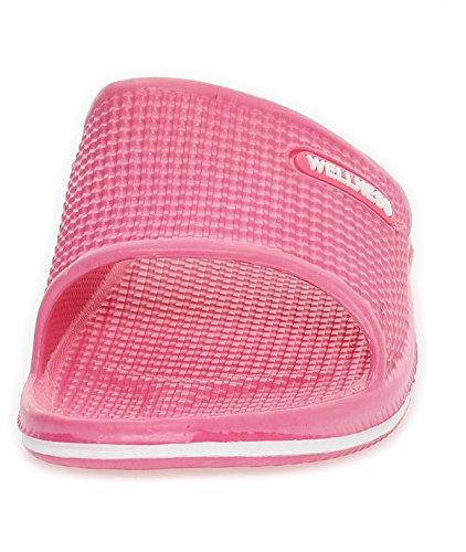 Pantoufles Femme Pantoufles De Plage Chaussures De Plage Pantoufles Sandales 0096 Corail