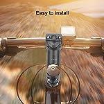 SANON-Mountain-Bike-Collegare-Manubrio-in-Lega-di-Alluminio-Aluminium-Attacco-Manubrio-Parte-di-Ricambio-Accessorio-Asta-Manubrio-Bici