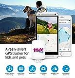 Trax Play NEUES verbessertes Live draussen GPS Ortungsgerät für Kinder und Haustiere, rosa - 14