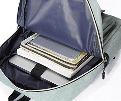 FZHLY Leisure Travel Bag Studenti Di Grande Capienza,LightGreen LightGreen