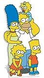 Star Cutouts Pappaufsteller der Simpsons-Familie