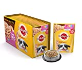 #8: Pedigree Puppy Chicken chunks Flavour in Gravy, 80 g (Pack of 15)