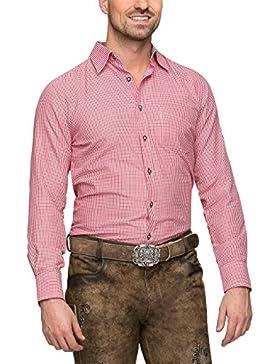 Stockerpoint Camicia per Costume Tipico Bavarese Uomo