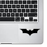 Bat Logo Black Laptop Side Sticker for A...