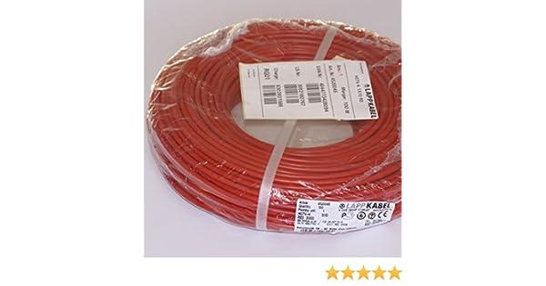 Einzelader H07V-K 16 qmm braun Flexibel Preis pro 1 Meter,Lieferung erfolgt in Einer L/änge bis 100 Meter