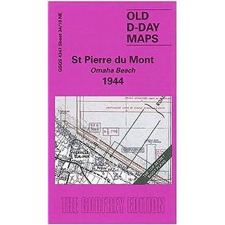 D-Day 34/18 NE St Pierre du Mont. Omaha Beach 1944 1 : 25 000: Militärhistorische Landkarte