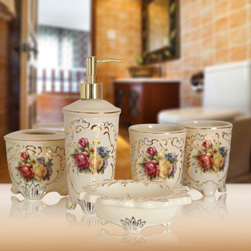XXN-Unione cinque pezzi set da bagno-bagno wedding mug set bagno bagno spazzolatura kit coppa