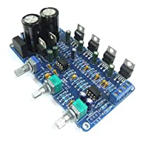 DROKŽ TDA2030A Amplifier Board 2.1 Stereo Audio AMP 2-Channel 18Wx2 Subwoofer 36Wx1 BTL Circuit Amp Board for PC Speaker DIY