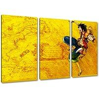 Una imagen Piece, de 3 piezas en la lona (tamaño total: 120x80 cm), la impresión del arte de alta calidad como un mural. Más barato que una pintura al óleo! ATENCIÓN NO cartel!