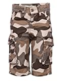 Boys 3/4th Cargo shorts - Military Khaki