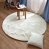 XF Teppich - weicher und atmungsaktiver Rundteppich, stylischer Flauschiger Teppich, Rutschfester Teppich, Kindergarten, Zimmer, Durchgang, Rutschfester, absorbierender Teppichboden im Wohnzimmer //