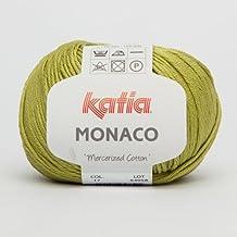 Katia Monaco 017 green oasis 50 G de lana