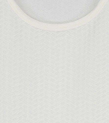 Claudia Sträter Damen Top mit Cut-Out-Schultern und Manschetten Weiß