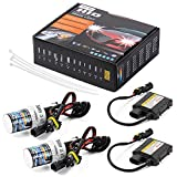 Kit de conversion HID xénon H7 55 W, ballast fin, options faisceau unique et bi-xénon, H7 9004 6000 K, bus CAN sans erreur LD708, par XCSOURCE