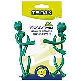 Tenax Dekofigur Froggy Twist, 2 Stück, Grün