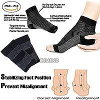 pedimendtm Plantarfasziitis Kompressions-Socken, 2pair, 4Stück, zur Schmerzlinderung, | Knöchelbandage, lindert... preisvergleich bei billige-tabletten.eu