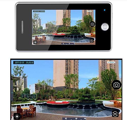 BKOLPO 4,3-Zoll-HD-Digitalkamera-Projektor-Video auf Nimm eine Tür-Kamera IR-Nachtsicht-PIR Bewegungs-Sensor Keiner Disturb Türklingel
