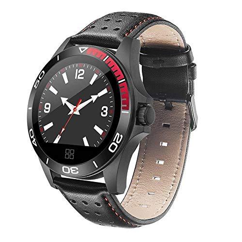FHBIR Smart Watch Multi Sport Modus Fitness Tracker Schrittzähler Herzfrequenz Schlaf Monitor Anruf Erinnern Wasserdichtes Band (Herzfrequenz-monitor-jugend)