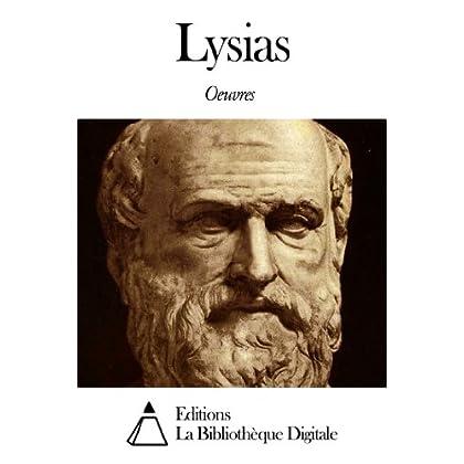 Oeuvres de Lysias