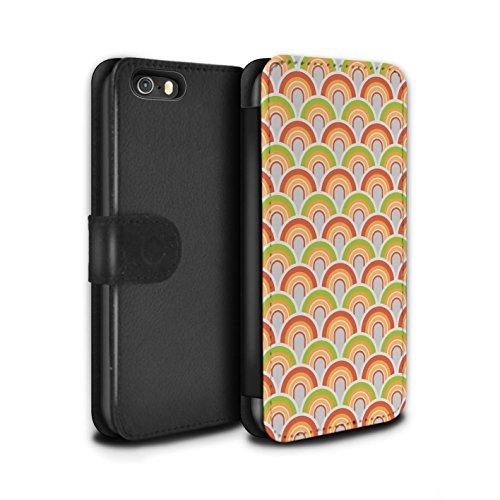 Stuff4 Coque/Etui/Housse Cuir PU Case/Cover pour Apple iPhone 5/5S / Années 70/1970 Design / Modèle Décennie Collection Années 50/1950