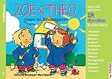 """ZOE & THEO malen im Kindergarten (Multilingual!): 3er-Band Nr. 1, 13 Sprachen in einem Buch! (""""ZOE & THEO""""-Serie, Multilingual! / 13 Sprachen in einem Buch!)"""