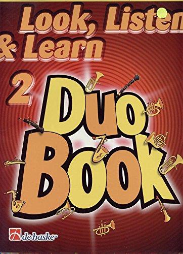 Sehen, hören und lernen Duo-ALTO SAXOPHON-Buch 2 - Hören Diagramm