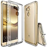 Ringke – Housse Huawei Mate 8, [Fusion] choc absorption TPU pare-chocs [choc technologie absorption] [conviviente Bouchon anti-poussière] pour Huawei Mate 8 – Crystal View