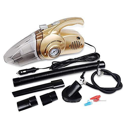 ZXZXZX Auto Aspirapolvere,Aspirapolvere Multiuso 12V 120w per Auto e Case Aspirapolvere Secco e Bagnato per Auto 4 in 1 14.76M (4,5 Piedi) di Altezza