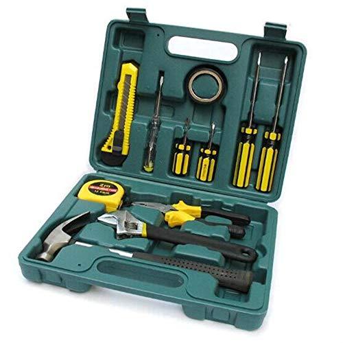 Sxuefang Outillage Boîte à Outils,Matériel Outils Tool Set de 12 pièces Auto Set Toolbox Voiture Assurance Cadeau Repair Tool Set