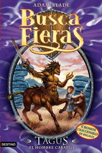 Portada del libro Tagus, el Hombre caballo: Buscafieras 4