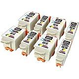 Pack de 8 XL TONER EXPERTE® Compatibles Kodak 30XL (30B / 30CL) Cartuchos de Tinta para Kodak ESP 1.2, 3.2, 3.2S C100 C110 C115 C300 C310 C315 C330 C360 Hero 2.2 3.1 4.2 5.1 Office 2100 2150 2170 AIO