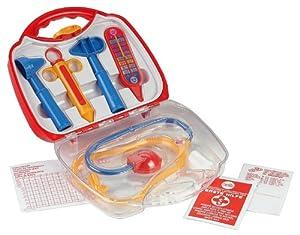 Theo Klein Doctor case - juguetes de rol para niños (Niño/niña, Transparente)